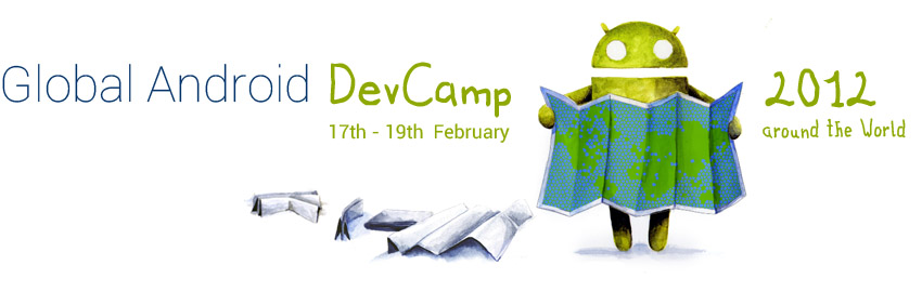 Global Android Dev Camp logo