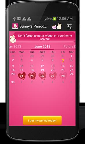 Bunny's Period Tracker v2.2