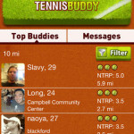 tennis buddy screenshot 1